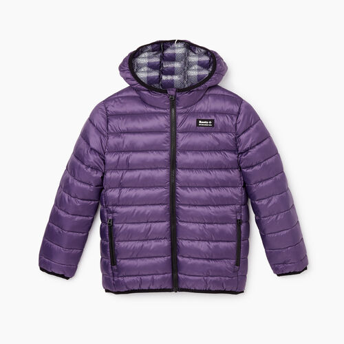 Roots-Gifts Gifts For Kids-Kids Roots Puffer Jacket-Loganberry-A