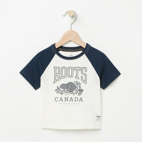 Roots-Kids Baby-Baby Glow In The Dark Raglan Top-Pristine White-A
