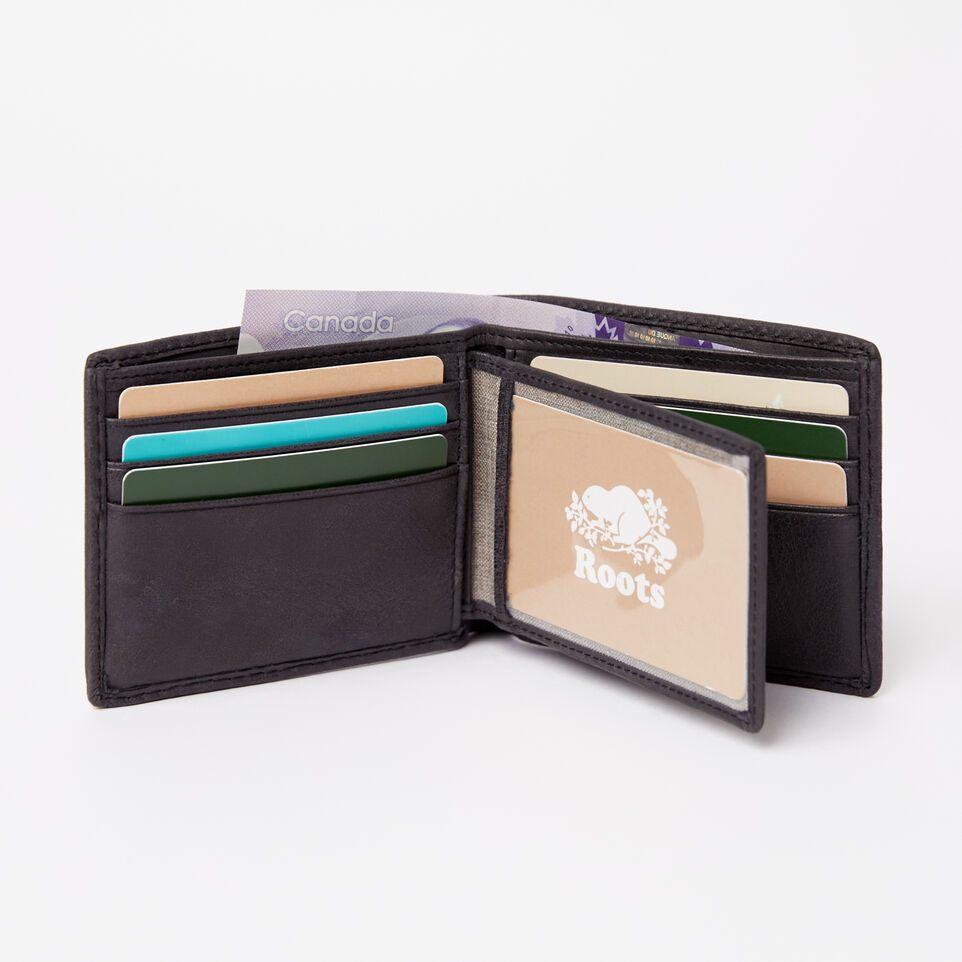 Roots-undefined-Mens Slimfold Wallet With Side Flap Tribe-undefined-B