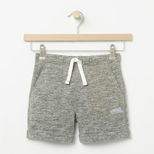 Roots-Kids New Arrivals-Girls Woodland Short-Dusty Olive-A