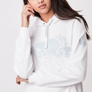 Roots-Women New Arrivals-Roots Cooper Kanga Hoody-White-A