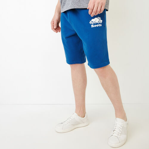 Roots-New For July Men-Original Sweatshort 10.5 In-Active Blue-A