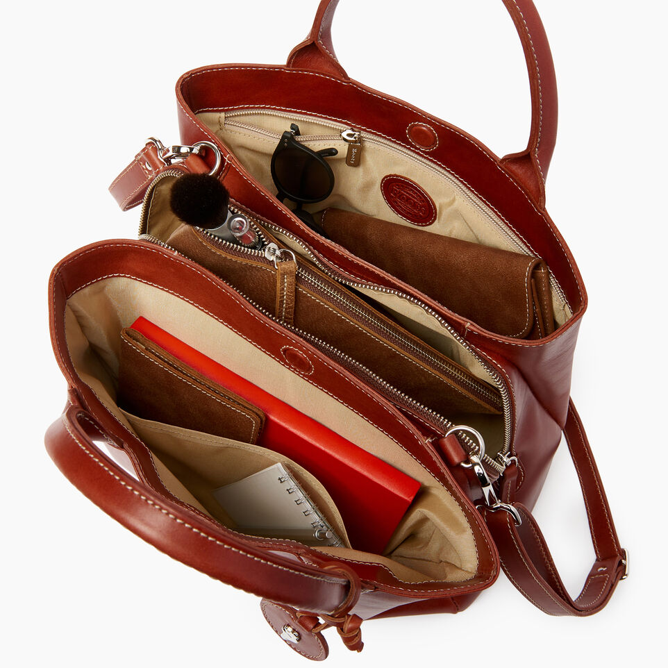 Roots-Leather  Handcrafted By Us Our Favourite New Arrivals-Mont Royal Bag Horween-Cognac-D