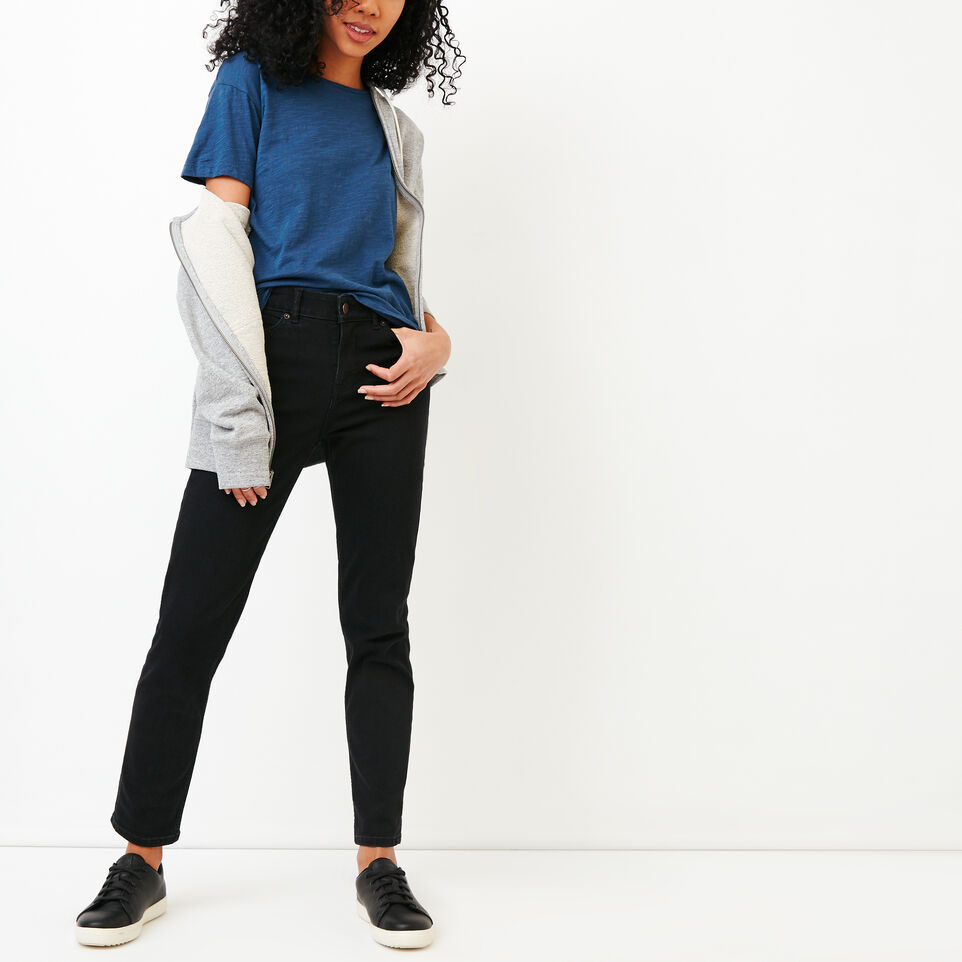 Roots-New For August Women-Savin Top-Sargasso Sea-B
