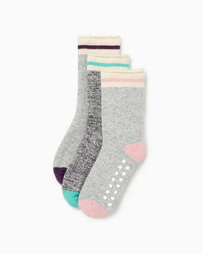 Roots-Sale Toddler-Toddler Cabin Roll Sock 3 Pack-Pink Mix-A