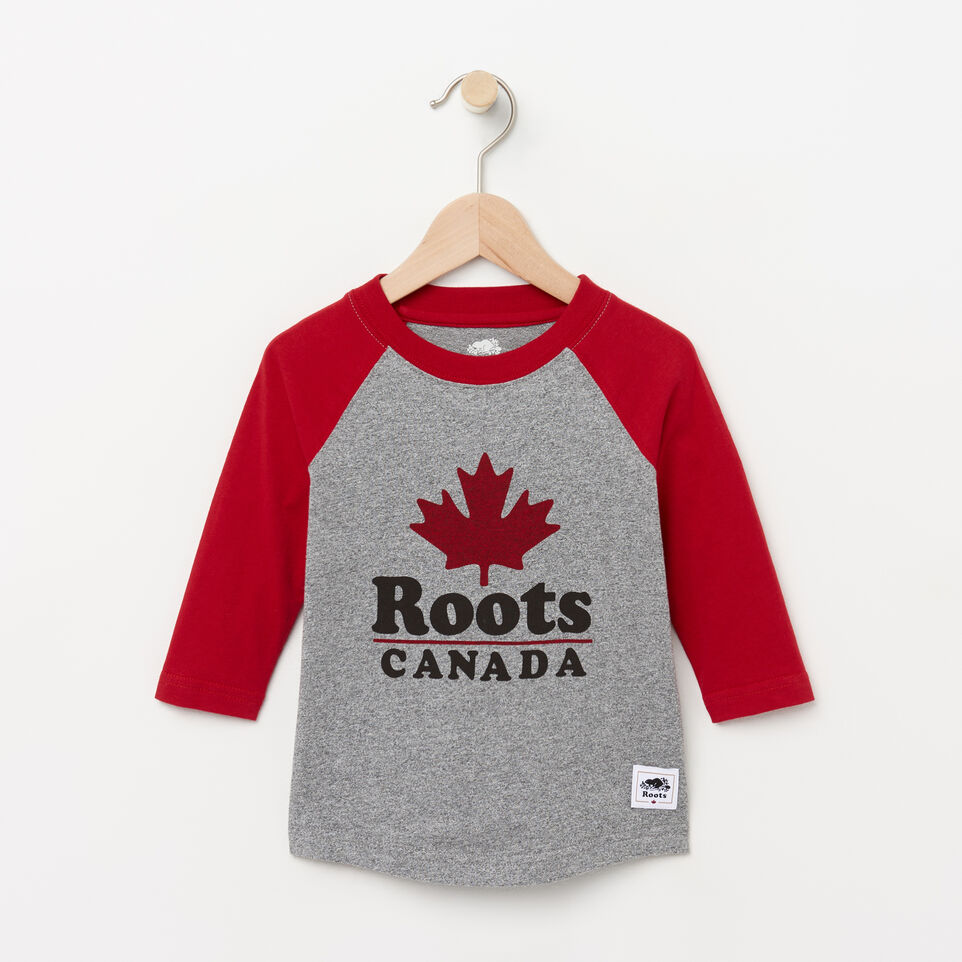 Roots-undefined-Toddler Canada Ringer Raglan Top-undefined-A