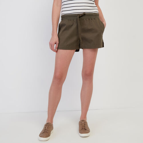 Roots-Women Shorts & Skirts-Journey Short-Fatigue-A