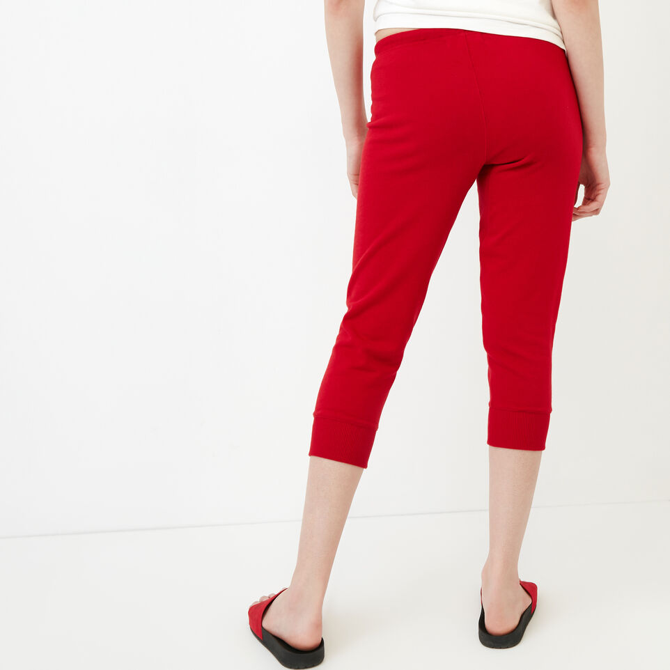 Roots-Women Our Favourite New Arrivals-Tyne Capri-Sage Red-D
