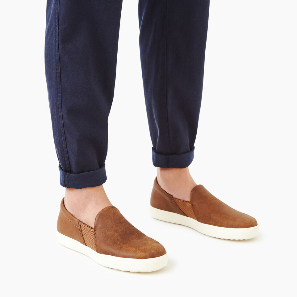 Roots-Women Categories-Womens Annex Slip-on-Natural-B
