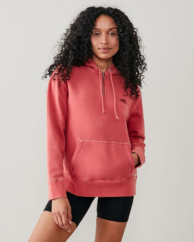 Roots-New For This Month Roots Organics-Botanic Organic Olivia Hoody-Rubia-A