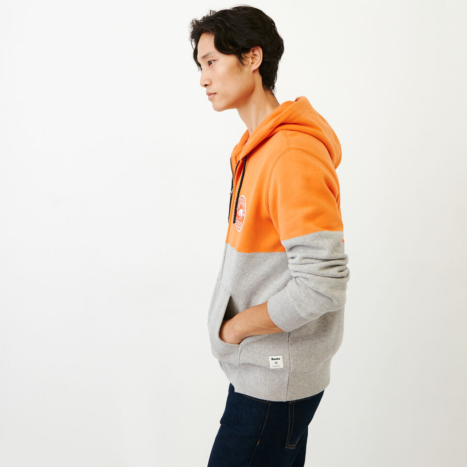 Roots-Men Our Favourite New Arrivals-Athletic Dept. Zip Hoody-Grey Mix-C