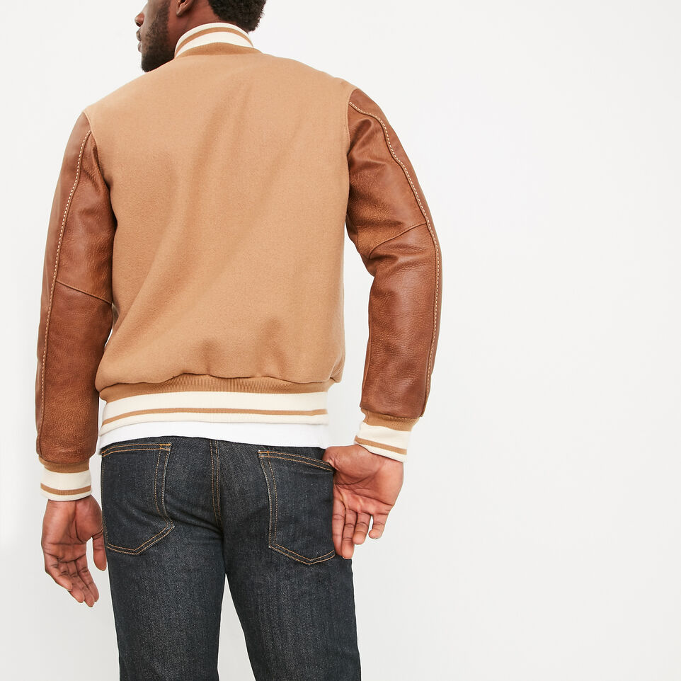 Roots-undefined-Men's Varsity Jacket Tribe-undefined-D