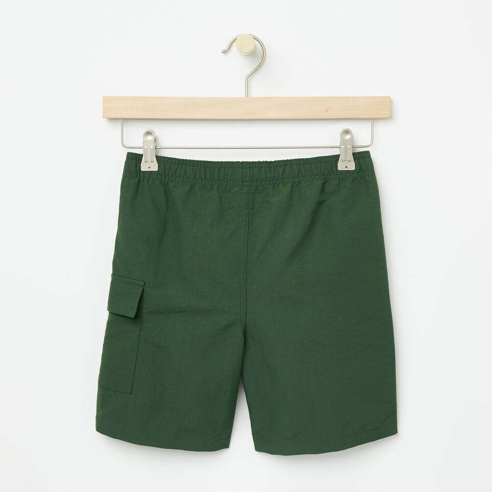 Roots-undefined-Boys Nylon Camp Shorts-undefined-B