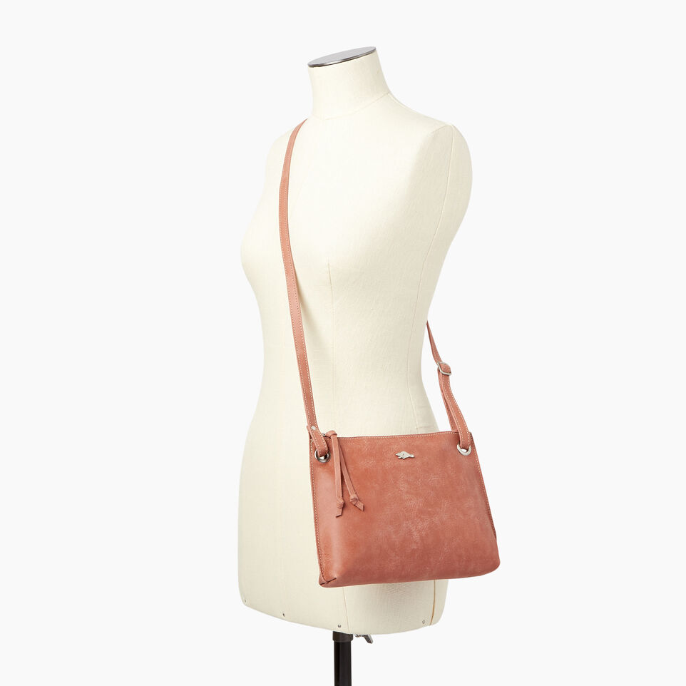 Roots-Leather  Handcrafted By Us Categories-Edie Bag-Canyon Rose-B