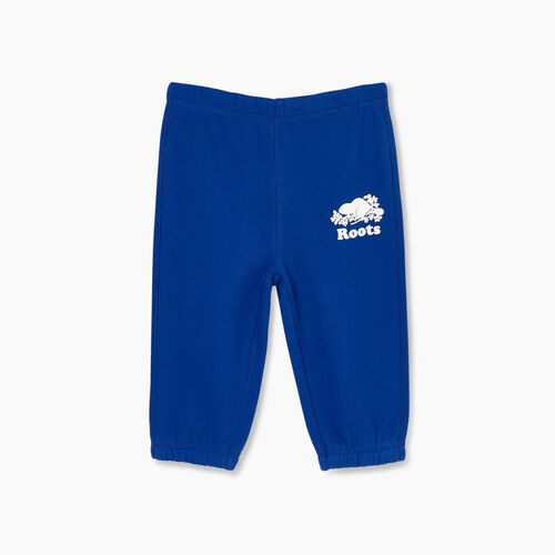 Roots-Kids Bottoms-Baby Original Sweatpant-Mazarine Blue-A