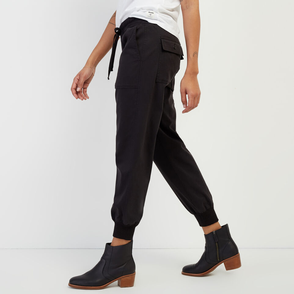Roots-New For February Journey Collection-Journey Jogger-Black-C