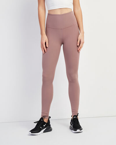 Roots-New For February Journey Collection-High Waist Journey Legging-Twilight Mauve-A