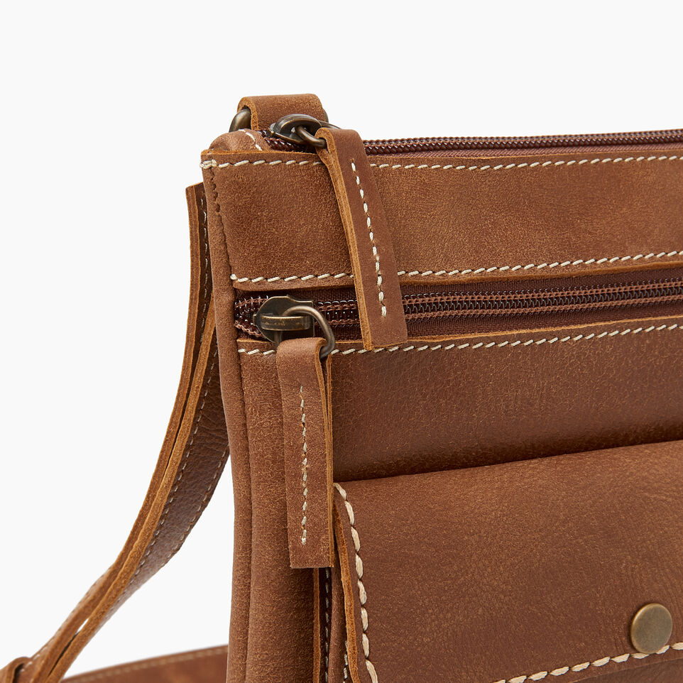 Roots-Women Crossbody-Riverside Saddle-Natural-D