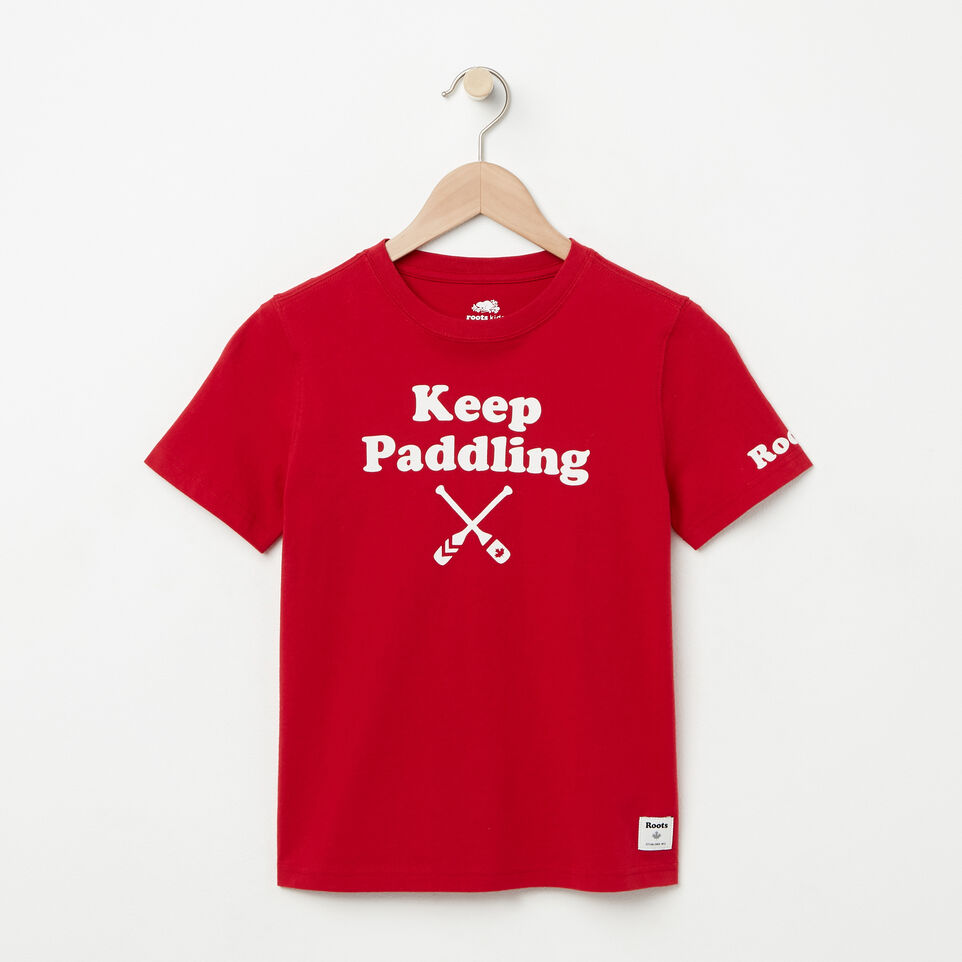 Roots-undefined-Boys Keep Paddling T-shirt-undefined-A