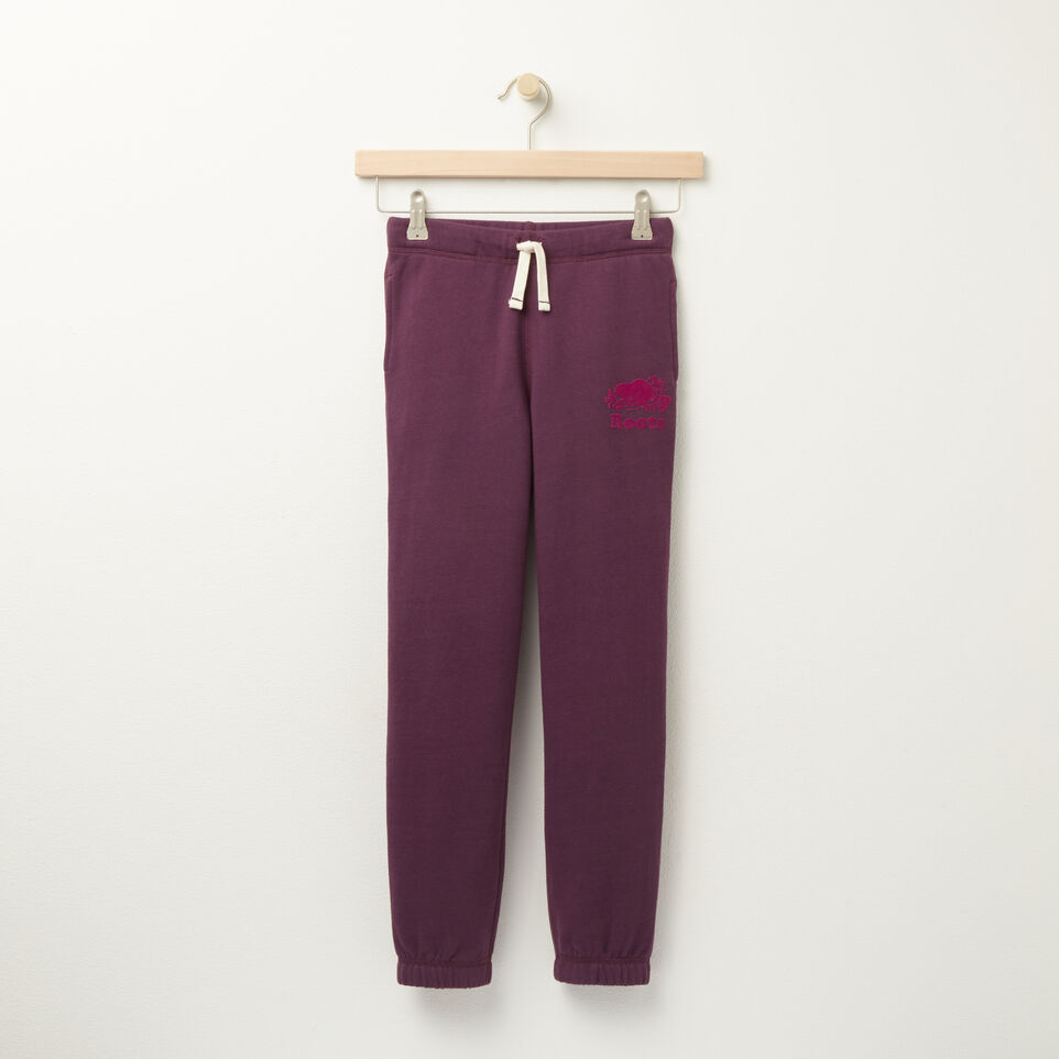 Roots-undefined-Girls Original Sweatpant-undefined-A
