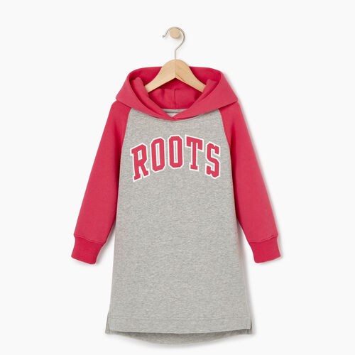 Roots-Sale Kids-Toddler 2.0 Hooded Dress-Grey Mix-A