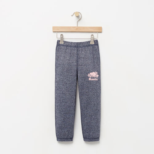 Roots-Kids Bottoms-Toddler Original Roots Sweatpant-Navy Blazer Pepper-A