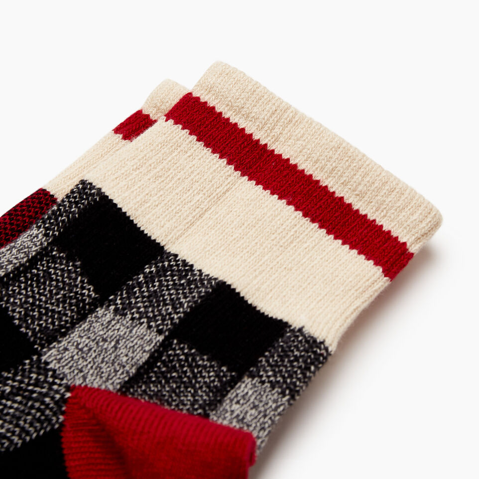 Roots-Women Our Favourite New Arrivals-Park Plaid Ankle Sock 2 Pack-Cabin Red-C