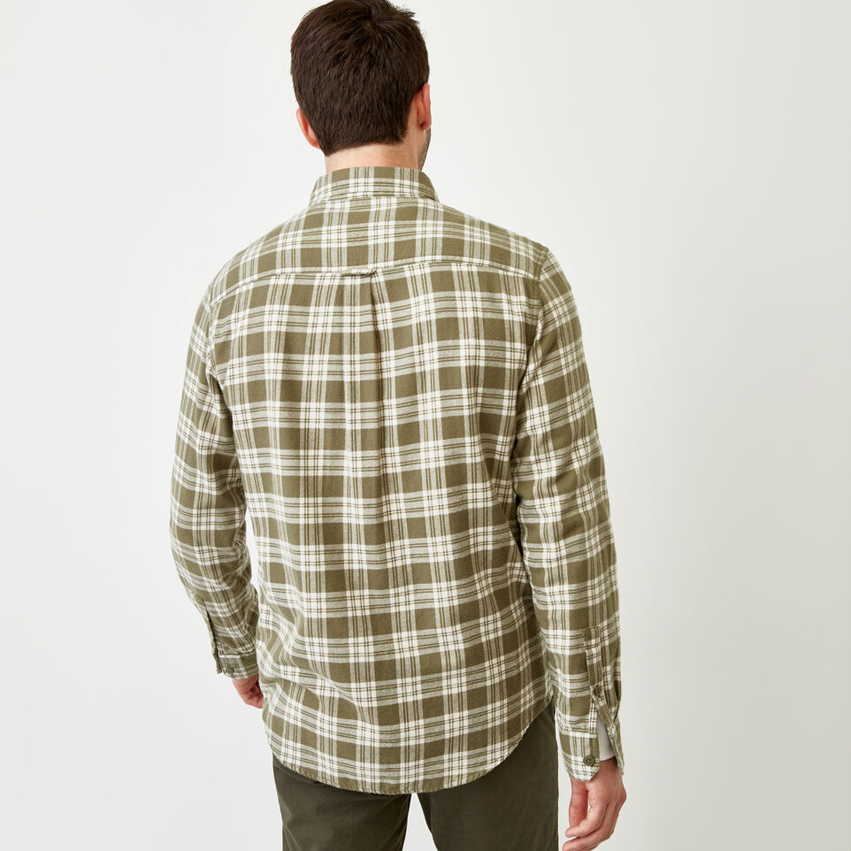 Roots-Men Shirts & Polos-Harrison Flannel Shirt-undefined-D