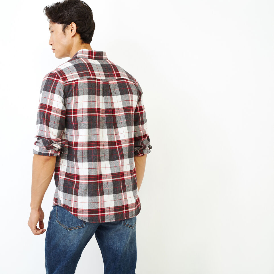 Roots-undefined-Rivers Flannel Shirt-undefined-D