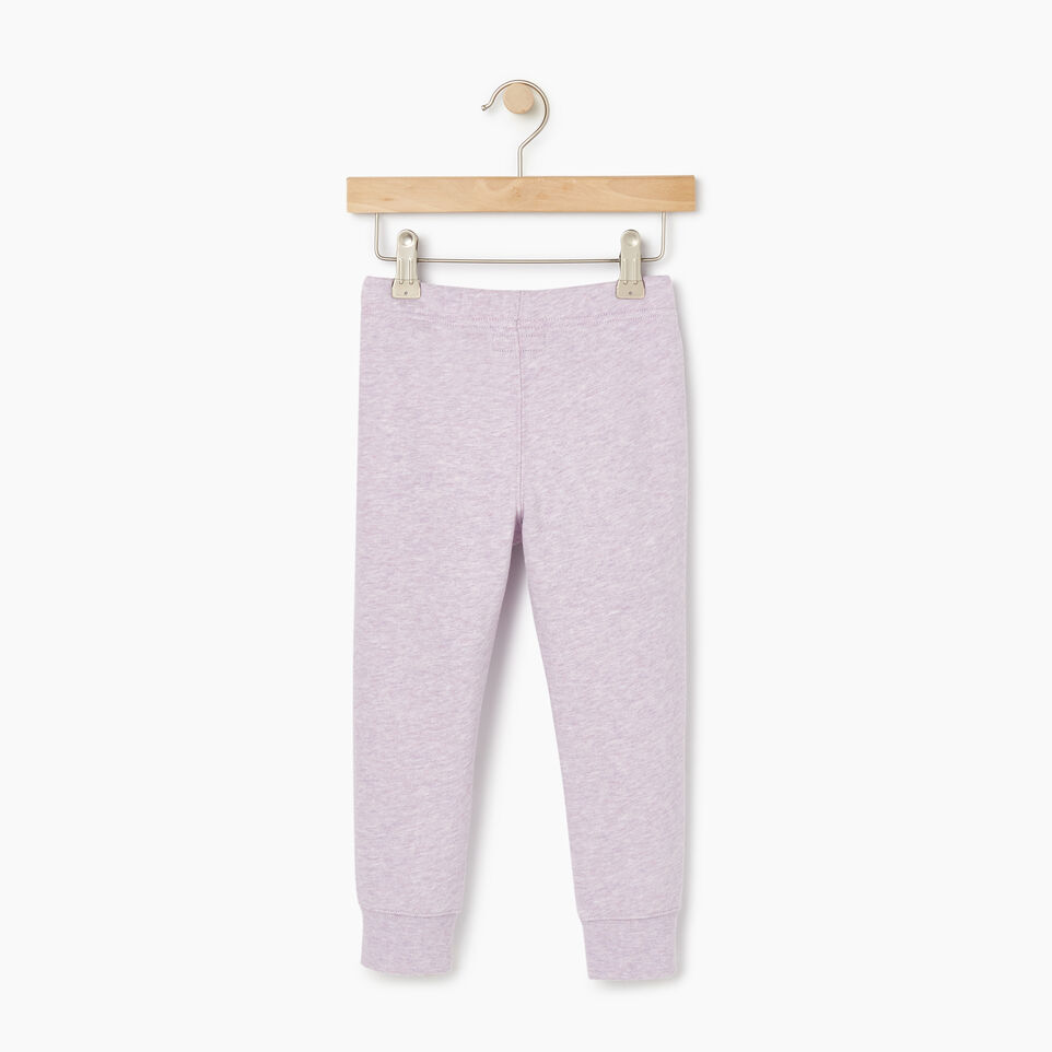 Roots-Kids Bottoms-Toddler Slim Cuff Sweatpant-Lupine Mix-B