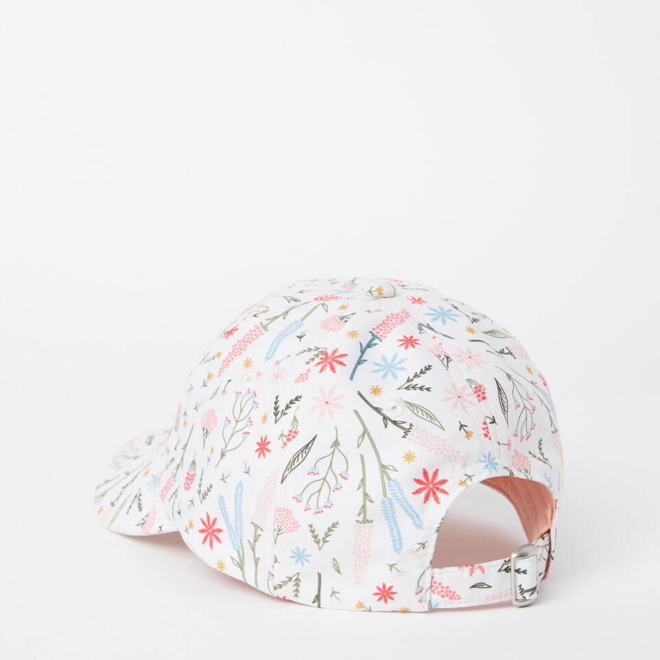 Roots-undefined-Girls Cooper Floral Baseball Cap-undefined-C