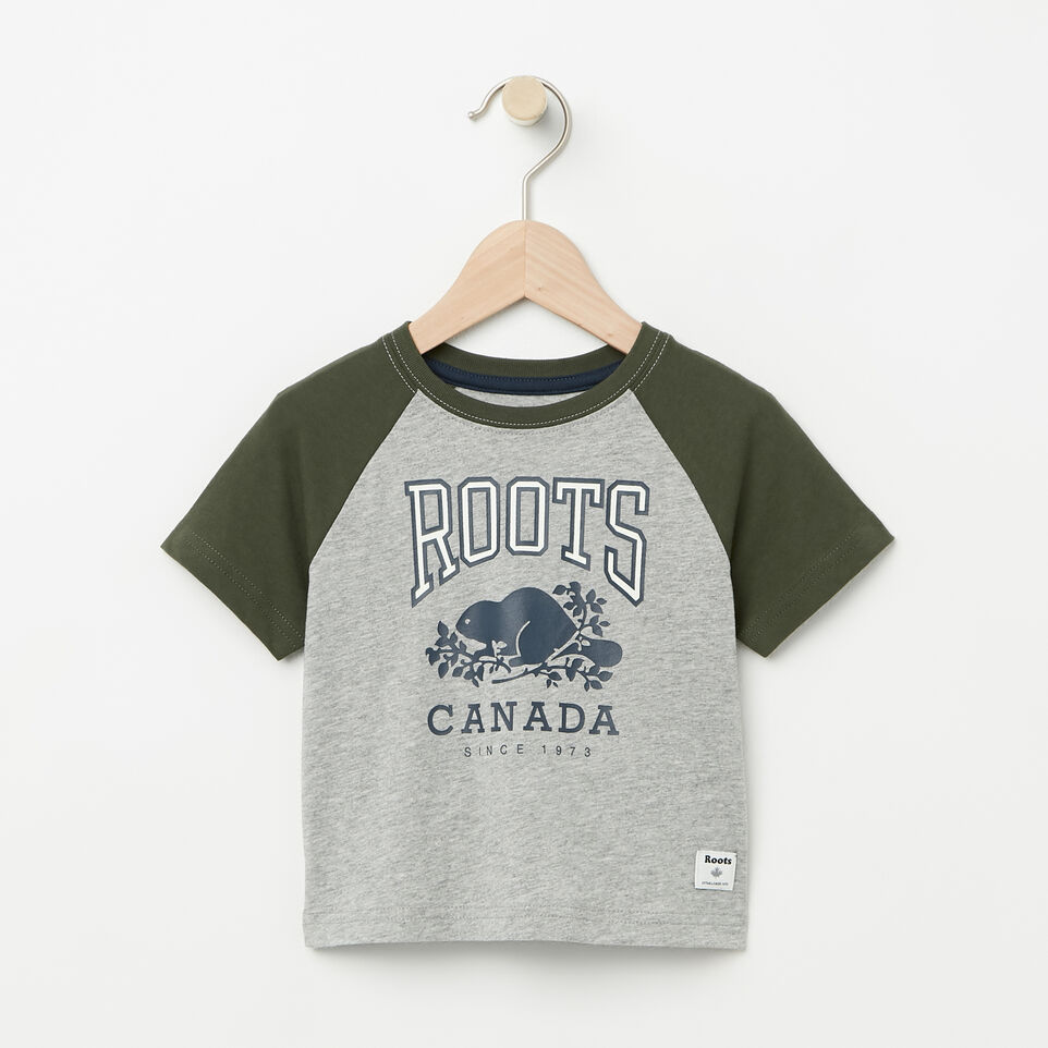 Roots-Baby Glow In The Dark Raglan Top