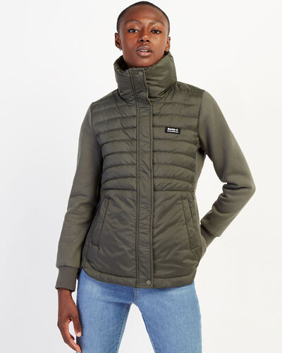 Roots-New For February Journey Collection-Journey Hybrid Jacket-Loden-A