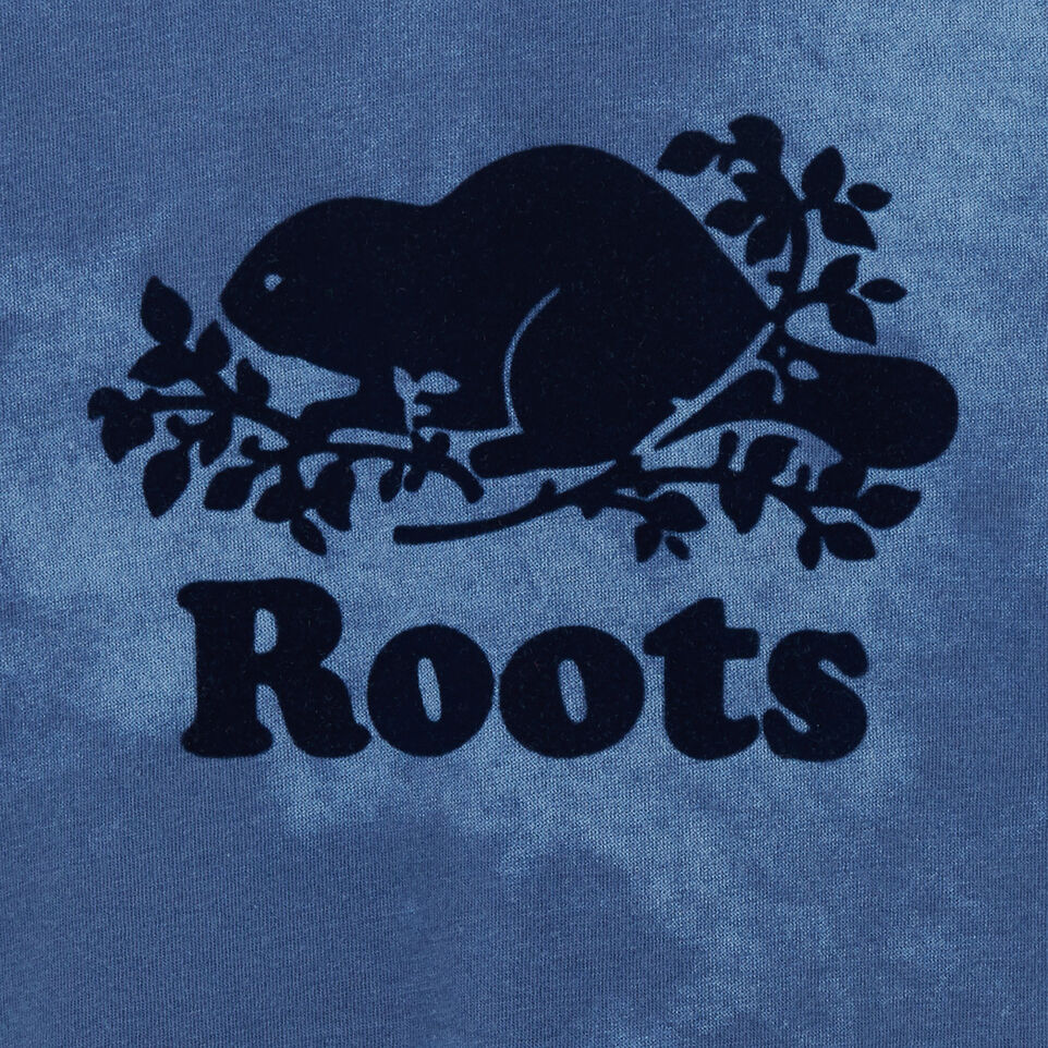 Roots-Kids New Arrivals-Baby Cooper Beaver T-shirt-Federal Blue-C