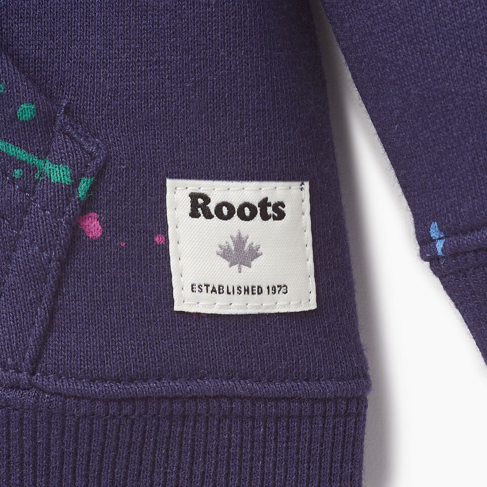 Roots-Kids Our Favourite New Arrivals-Toddler Splatter Full Zip Hoody-Eclipse-C