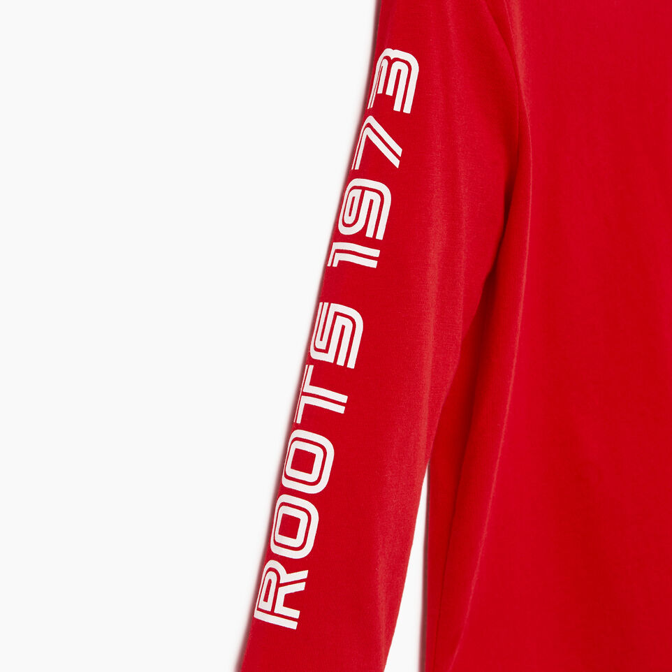 Roots-Kids Our Favourite New Arrivals-Toddler Sportsmas Multi T-shirt-Racing Red-E