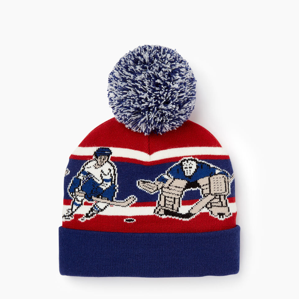 Roots-Winter Sale Kids-Kids Hockey Toque-Blue Depths-C