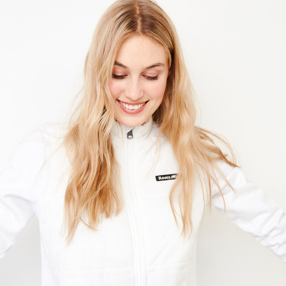 Roots-New For July Daily Offer-Roots Hybrid Jacket-White-E