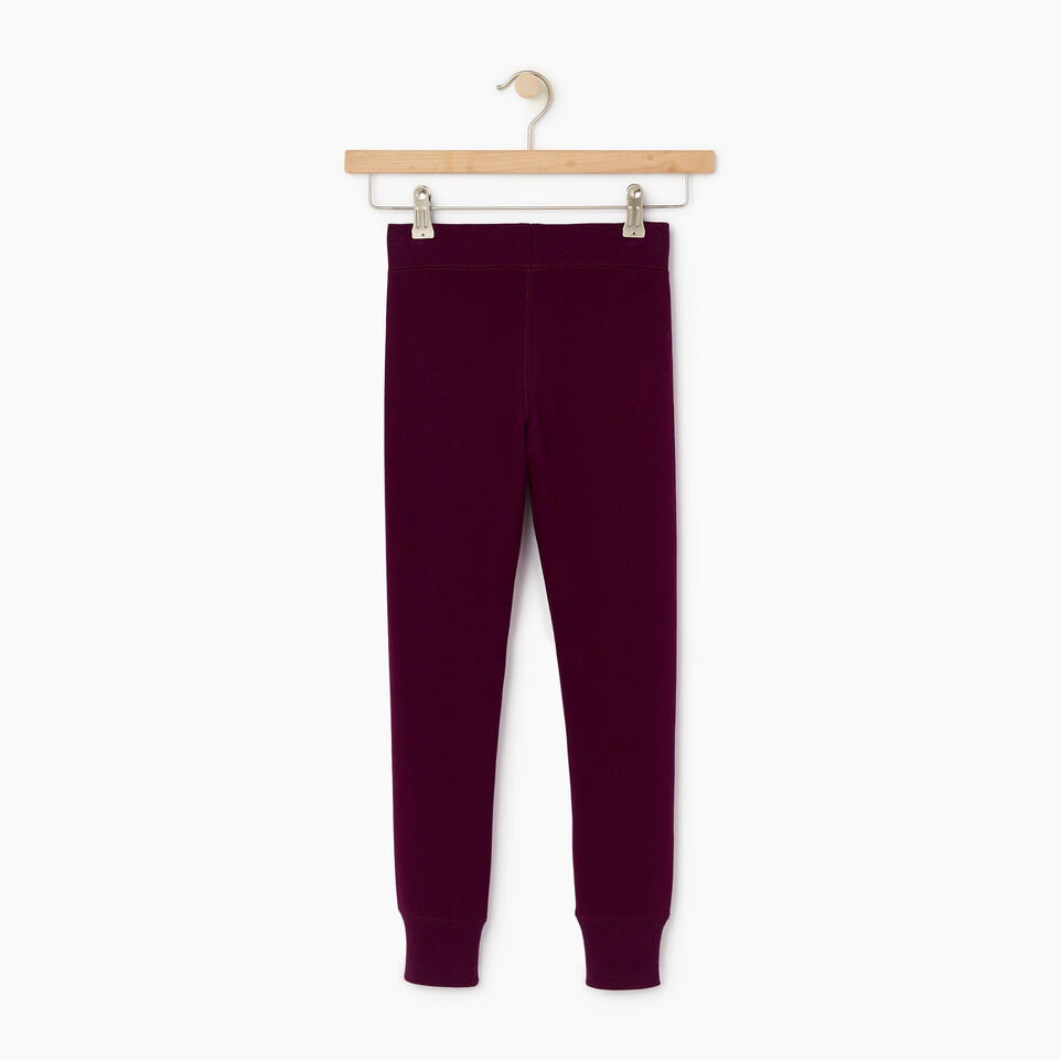 Roots-Kids Our Favourite New Arrivals-Girls Cozy Fleece Sweatpant-Pickled Beet-B