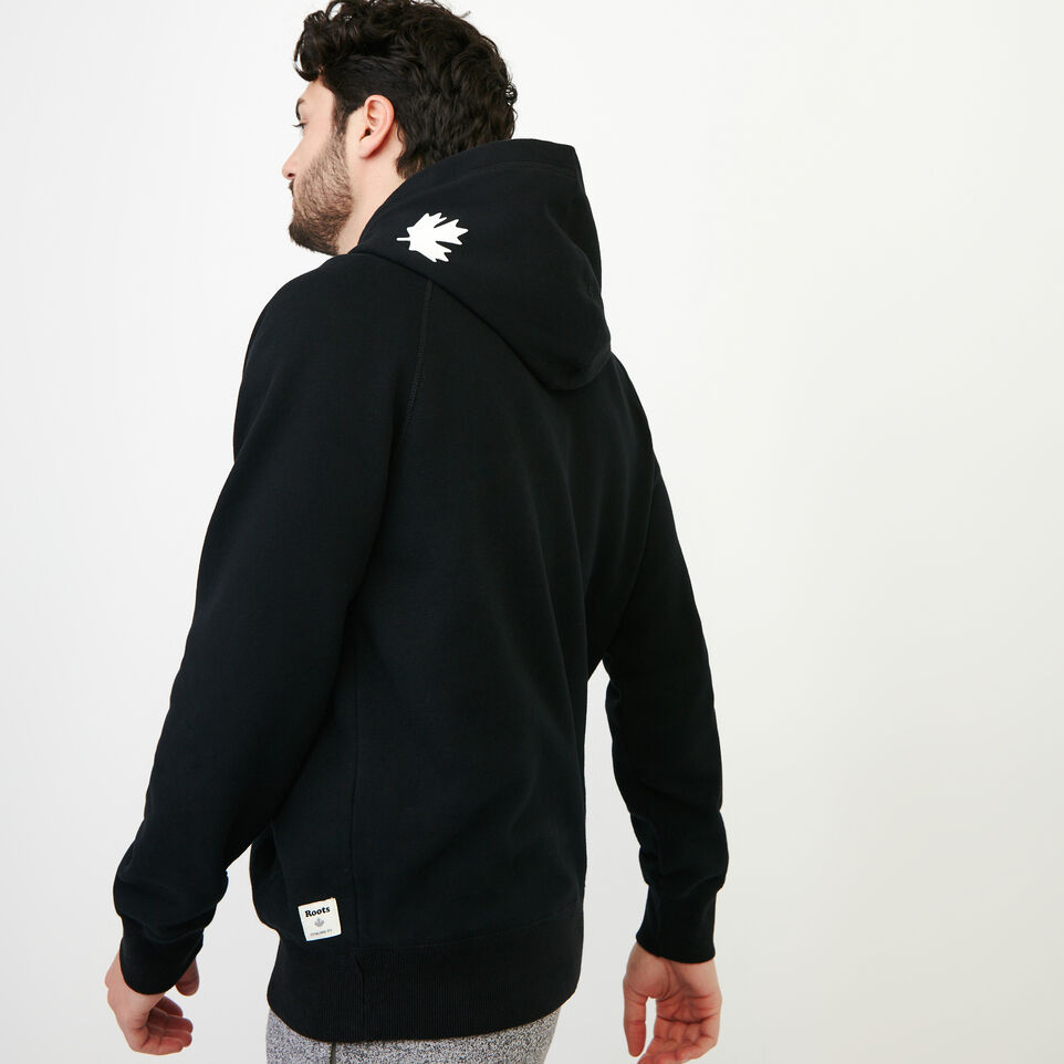 Roots-Men Our Favourite New Arrivals-Original Kanga Hoody-Black-C