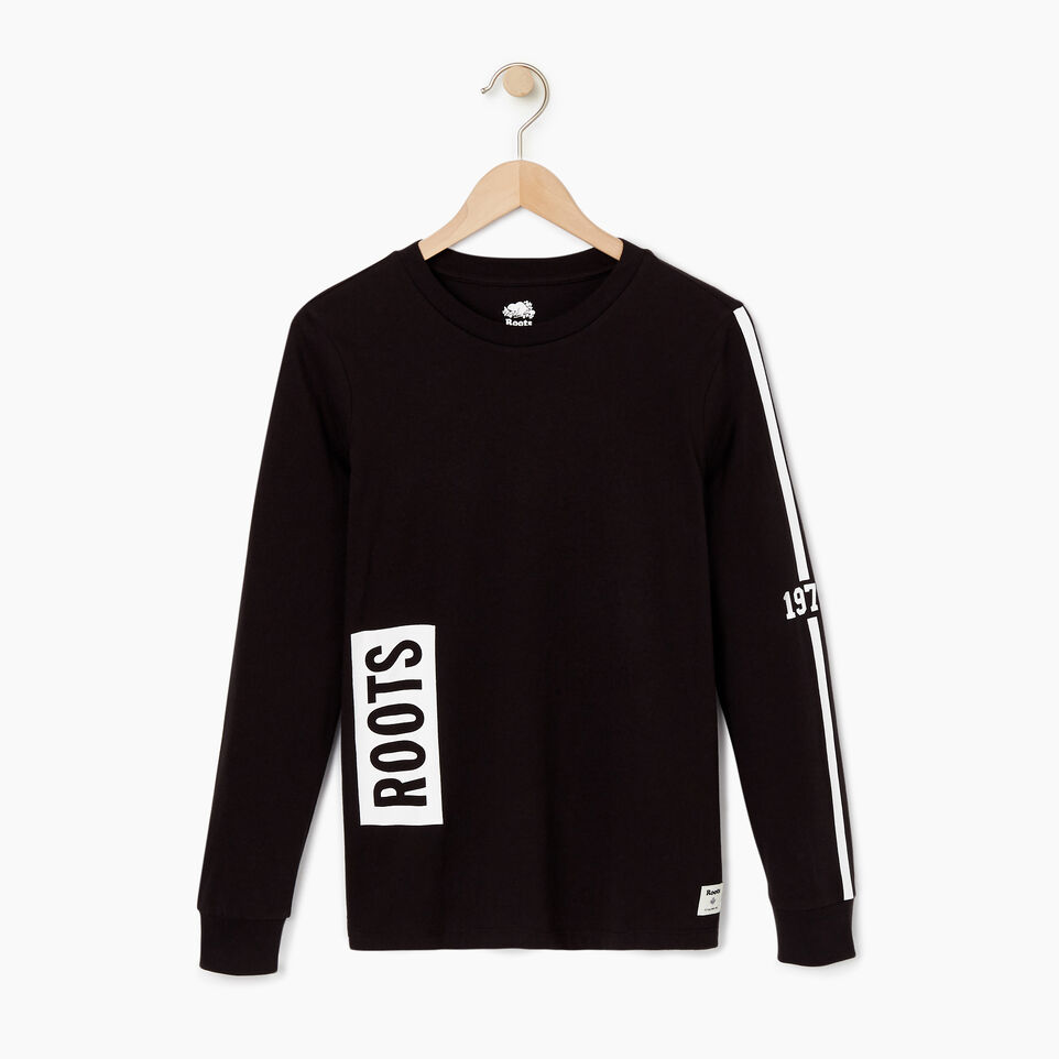 Roots-undefined-Womens 1973 Long Sleeve T-shirt-undefined-A