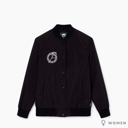 Roots-Women Jackets-Roots x Shawn Mendes Womens Awards Jacket-Black-A