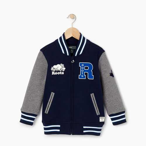 Roots-Kids Our Favourite New Arrivals-Toddler 2.0 Awards Jacket-Navy Blazer-A