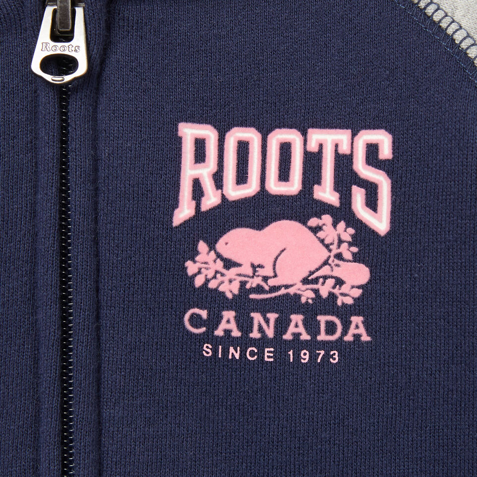 Roots-undefined-Baby RBC Varsity Full Zip Hoody-undefined-D