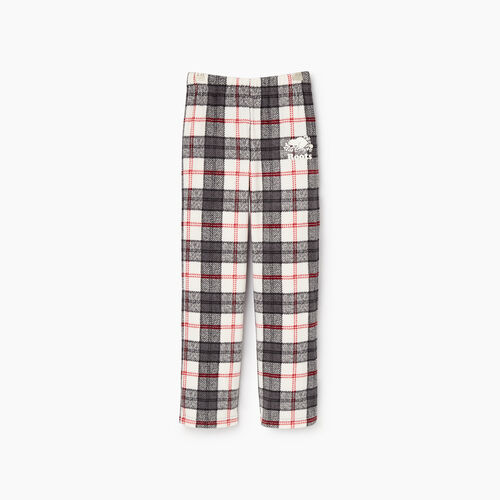 Roots-Kids Girls-Girls Inglenook Pj Pant-Birch White-A