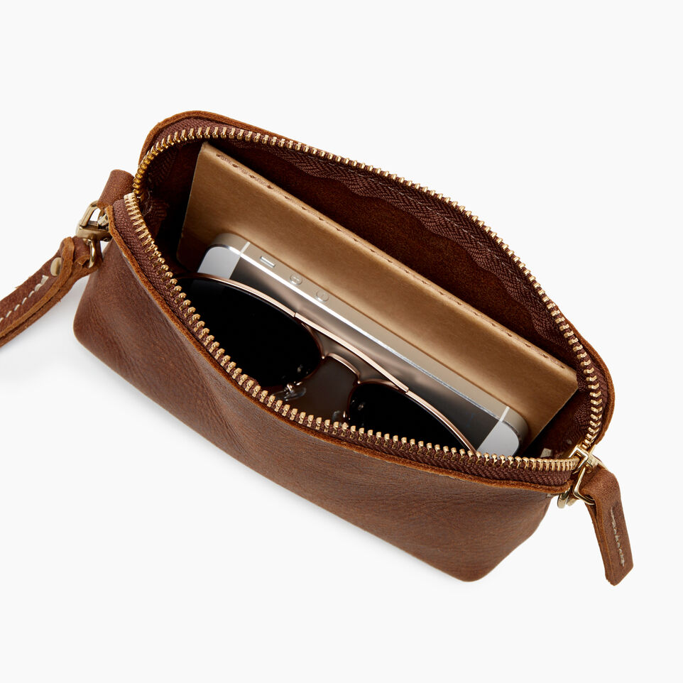 Roots-Leather New Arrivals-Christie Crossbody Tribe-Natural-D