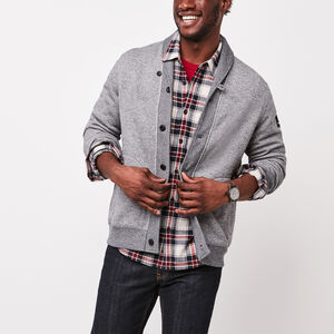 Roots-Sale Men-Rosedale Shawl Cardigan-Salt & Pepper-A