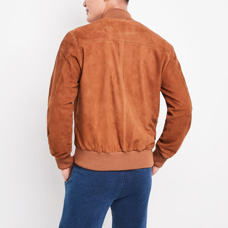 Roots-undefined-Blouson Jacket Suede-undefined-E