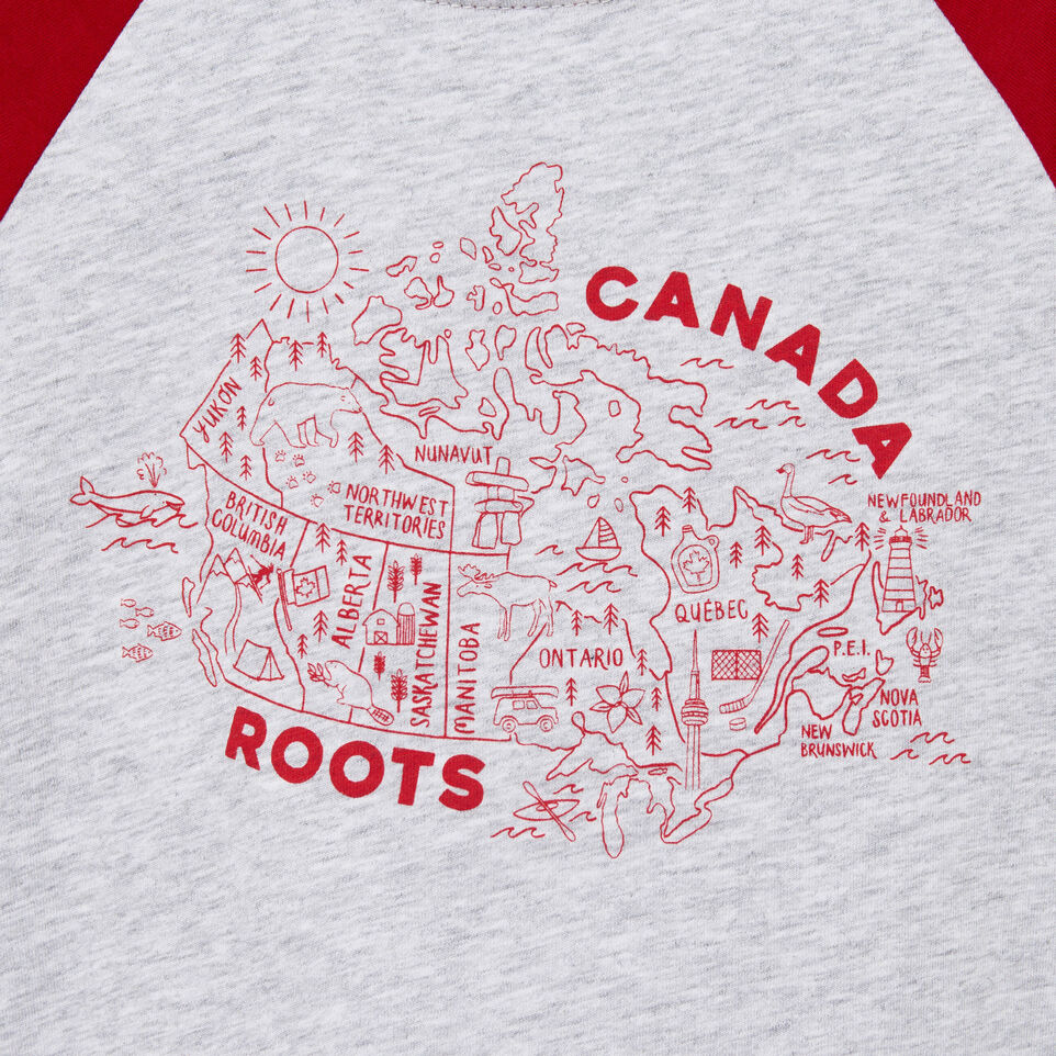 Roots-undefined-Toddler Canada Map T-shirt-undefined-D