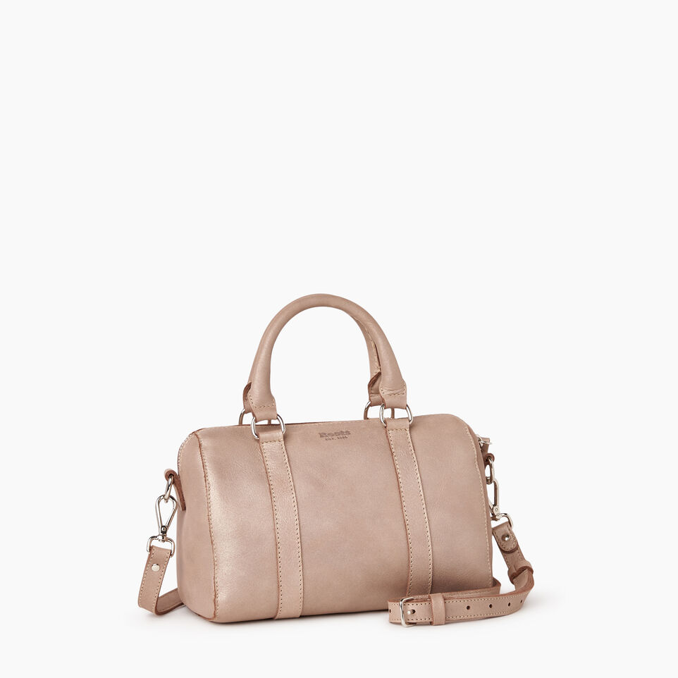 Roots-Leather New Arrivals-City Banff Bag-Champagne-A